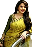 #8: Women's Clothing Beautiful Madhuri Bollywood Party Wear Offer Designer Sarees With Blouse Piece Buy Online Today Special Sale Offers