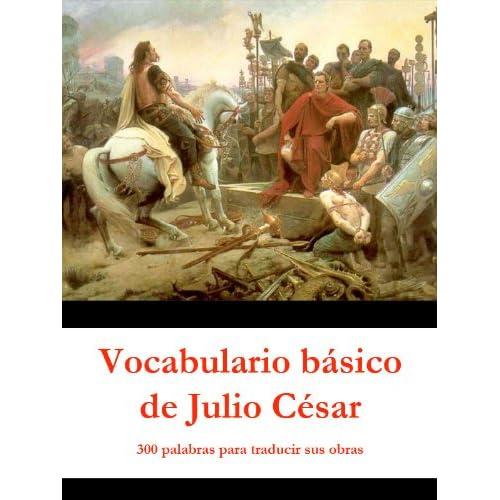 Vocabulario básico de Julio César: 300 palabras para traducir sus obras, de Javier Álvarez