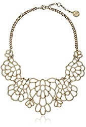 Jessica Simpson Bib Necklace, 11""