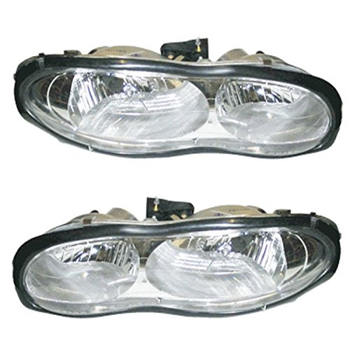 98-02 Chevy Camaro Z28 SS Headlights Headlamps Head Lights Lamps Pair Set (2000 Camaro Ss Headlights compare prices)