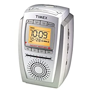 timex noaa instant weather alarm clock radio t248t home kitchen. Black Bedroom Furniture Sets. Home Design Ideas