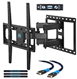 Mounting Dream MD2380 TV Wall Mount Bracket for most 26-55 Inch LED, LCD, OLED and Plasma Flat Screen TV, with Full Motion Swivel Articulating Dual Arms, up to VESA 400x400mm and 99 LBS with Tilting