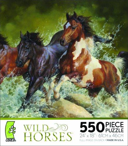 Ceaco Wild Horses-Marris Horses