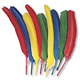 Creativity Street Quill Feathers, Assorted Colors, 24 Feathers per Pack