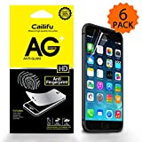 "iPhone 6 4.7 "" screen protector Cailifu [Matte ] Highest Quality Premium Anti-Glare and Anti-Fingerprint Screen protector with Lifetime Replacement Warranty [6-Pack] - Retail Packaging 2014"