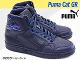 [プーマ] PUMA ハイカットスニーカー プーマキャット GR 360619 ハイカット メンズ レディース ユニセックス PUMACAT GR レザー 02カラー 24.0cm