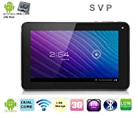 "SVP® 7 Inch Dual Core ANDROID 4.1 4GB Tablet WIFI 3G HDMI 3D E-book Google Play Store capacitive Touch Screen Tablet PC 7"" from SVP"