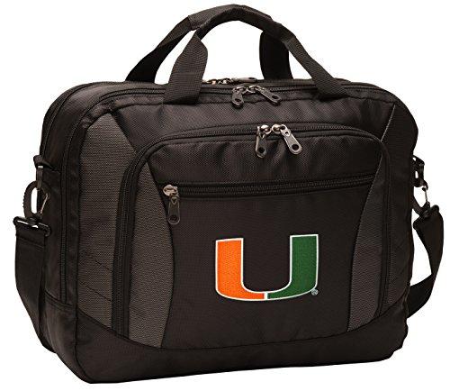 Miami Hurricanes Laptop Bag OFFICIAL UM Hurricanes Computer Bags (Miami Hurricanes Slides compare prices)