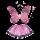 お手軽 妖精コスチュームSET ハロウィン 子ども 衣装 ベビーピンク
