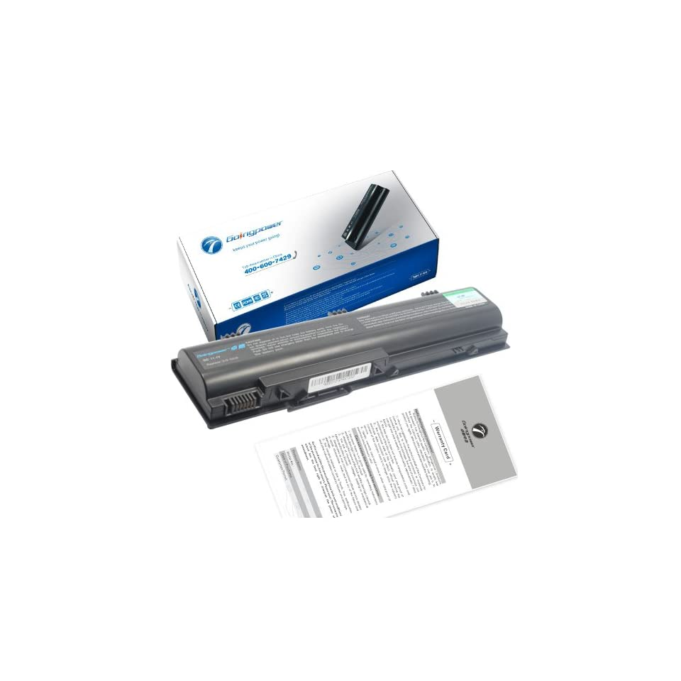 GoingPower Battery for DELL Latitude 120L XD184 TD611 TD612 0TD612 UD535 TD429 0TD429   18 Months Warranty [li ion 6 cell 4400mAh]