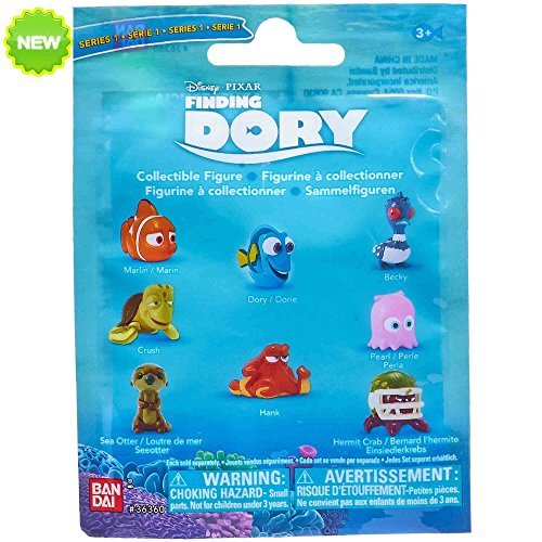NEW! Finding Dory w/ Nemo Collectible Blind Bag/Pack Series 1