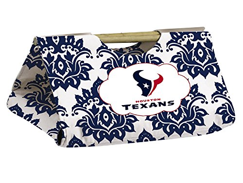 Houston Texans Damask Pattern Casserole Dish Carrier front-850737
