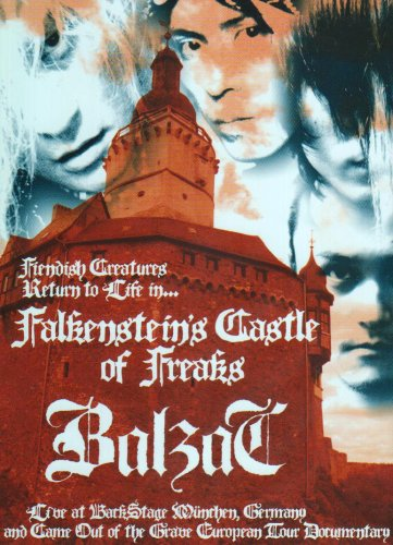 Falkenstein's Castle of Freaks Live at BACKSTAGE,Munchen,Germany&EURO TOUR 2004 DOCUMENTARY [DVD]
