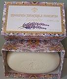 Saponificio Artigianale Fiorentino Lavender Single Soap Bar 10.5 Oz From Italy In A Lovely Decorative Box
