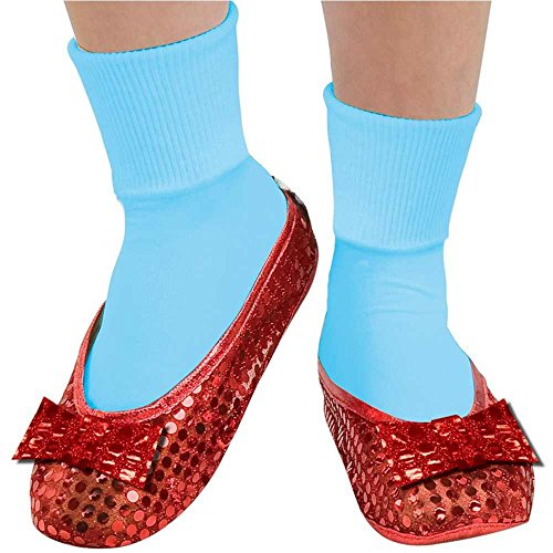 Dorothy Red Sequin Shoe Covers - One Size