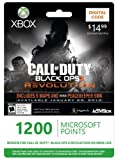 Xbox LIVE 1200 Microsoft Points for Call of Duty: Black Ops II Revolution [Online Game Code]