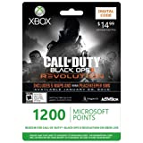 Xbox LIVE 1200 Microsoft Points for Call of Duty: Black Ops II Revolution [Online Game Code] ~ Microsoft