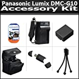 Accessory Kit Includes High Speed 2.0 USB Card Reader + Extended Replacement DMW-BLB13 (1500 mAH) Battery + Ac/Dc Rapid Travel Charger + Deluxe Carrying Case + Mini Tripod + More For The Panasonic Lumix DMC-G10 DMC-GF1C DMC-GH1 DMC-G1 DMC-G2 Camera