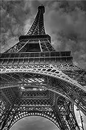 Startonight Canvas Wall Art Black and White Tour Eiffel De Paris, Cities USA Design for Home Decor, Dual View Surprise Wall Art 31.5 X 47.2 Inch 100% Original Art Painting!