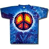 Tie Dye Mania Peace Sign Tie-Dye Short Sleeve T