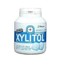 【歯科専用】キシリトールガム ボトルタイプ90粒(クリアミント) [ヘルスケア&ケア用品]