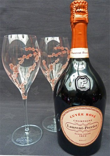 laurent-perrier-rose-75cl-with-two-laurent-perrier-limited-edition-rose-branded-champagne-flutes
