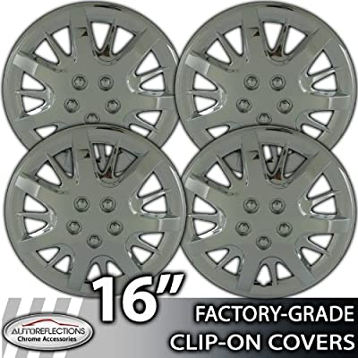 2000-2007 Chevy Impala 16 Inch Chrome Clip-On Wheel Covers