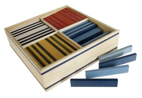 KAPLA OCT Holzplättchen, 100 Steine, octocolor