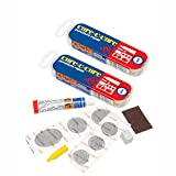 2 x Weldtite Puncture Repair kit 4 Road Touring Bike Cure c Cure Cycle Tube