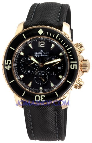 Blancpain Men's 5085F.3630.52 Fifty Fathom Automatic Flyback Chronograph Watch