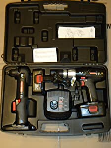 Craftsman 19.2 Volt C3 Cordless Combo Kit with Right Angle Drill