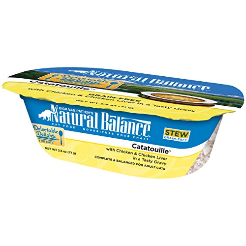 Natural Balance Delectable Delights Catatouille Cat Stew Formula