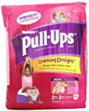 NewBorn, Baby, Huggies Pull-Ups Training Pants, with Learning Designs, 2T-3T, 44-Count New Born, Child, Kid