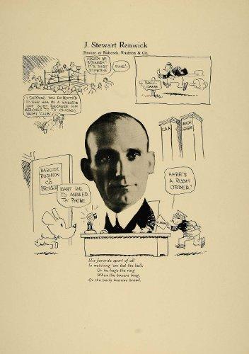1923 Print J. Stewart Renwick Chicago Broker Babcock - Original Print