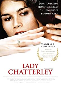 Lady Chatterley Framed Poster Movie Danish 27 x 40 Inches - 69cm x 102cm