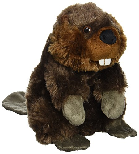 "Wild Republic CK-Mini Beaver 8"" Animal Plush"