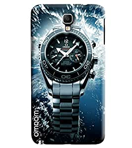 Omnam Omega Watch Effect Printed Designer Back Cover Case For Samsung Galaxy Note 3 Neo