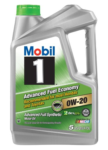Mobil 1 120758 Advanced Full Synthetic Motor Oil for 0W-20 5, 4.73L (Mobil 1 Synthetic Oil 5 Quart compare prices)