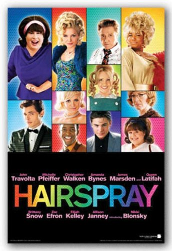 Hairspray Movie (Group Collage) Poster Print - 24x36