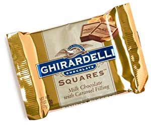 ghirardelli chocolate squares milk chocolate with caramel filling 1 3 ...