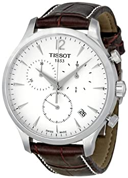 Tissot T Classic Tradition Chronograph Silver Dial Mens Watch T0636171603700 by Tissot