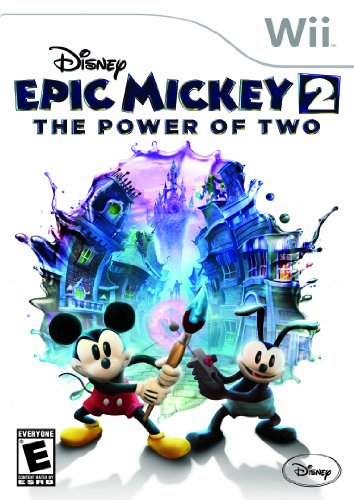 Disney Epic Mickey 2: The Power Of Two - Nintendo Wii front-1006744