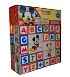 Alphabet And Number Blocks Images To Match And Learn - Mickey Mouse Clubhouse Mickey and Minnie Learn and Grow Blocks