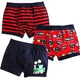 Vaenait Baby Kleinkind Kinder Jungen Unterwasche Boxer 3-Pack Set Choo Choo Train S