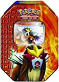 51j dfaYvlL. SL160  Pokémon Trading Card Game 2010 Holiday Tin   Entei