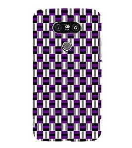 PrintVisa Corporate Print & Pattern Checks 3D Hard Polycarbonate Designer Back Case Cover for LG G5