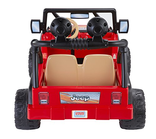 Kids electric car fisher price wheels jeep wrangler baby for Fisher price motorized cars