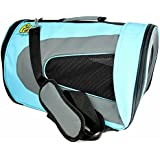 Soft Sided Pet Travel Carrier - [35% OFF Labor Day Sales!] - Pet Travel Portable Bag Home for Dog Cat Puppies and Other Small Animals by Pet Magasin [2-Year Warranty & 100% Money Back Guarantee]