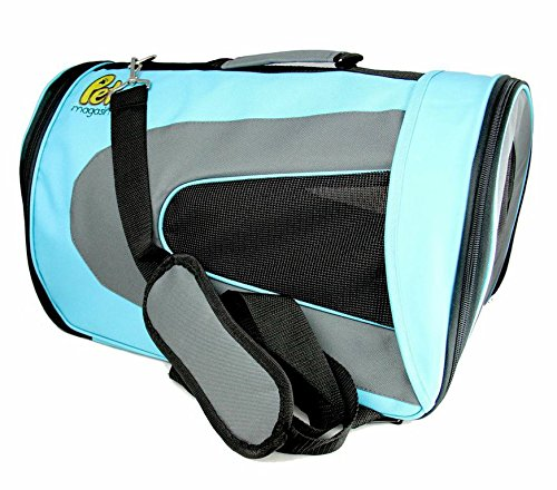 Soft Sided Pet Travel Carrier – [45% OFF Memorial Day Sales!] – Pet Travel Portable Bag Home for Dog Cat Puppies and Other Small Animals © Pet Magasin [2-Year Warranty & 100% Money Back Guarantee]