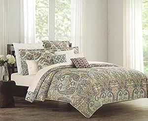 Amazon.com - Nicole Miller King Cal.King Duvet Cover Set Large Floral